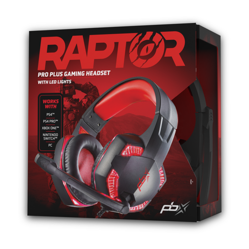 [WH27FX9019] PBX Gaming Raptor PRO PLUS Gaming Headset